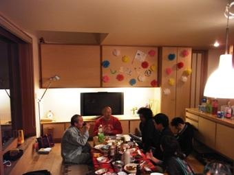 「町角の家」三周年&シマ華さん送別会_c0019551_17415834.jpg