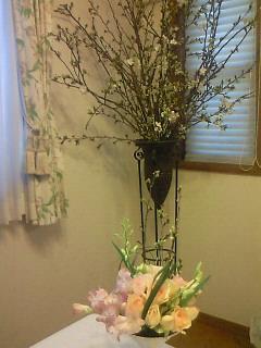 おうちでお花見ヽ(^o^)丿_b0151059_8281885.jpg