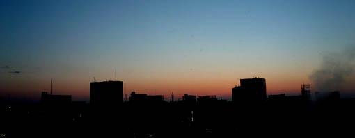 ついでに29日の仙台の朝焼け_e0054299_18554683.jpg