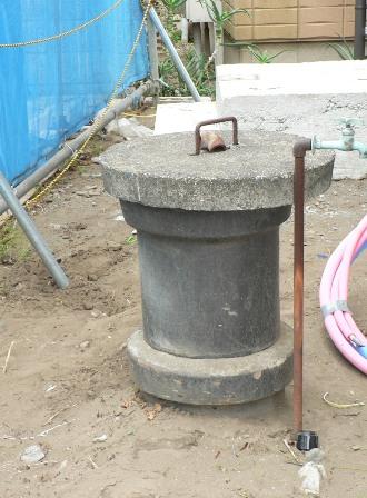 使用していない井戸を庭のモチーフとして使えるようにしました。_b0170161_1363742.jpg
