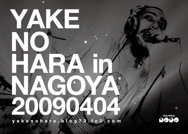 YAKENOHARA in NAGOYA._b0122802_2304992.jpg