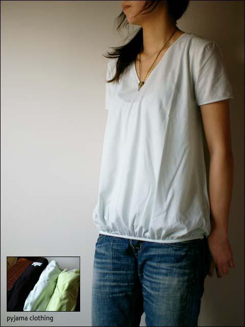 pyjama clothing [ピジャマクロージング] WIND LOOSE_f0051306_13474364.jpg