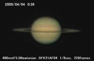 今日の土星_a0095470_1393517.jpg