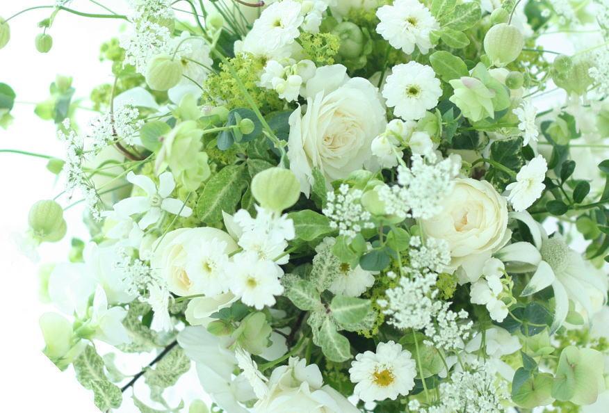 シェ松尾青山サロン様の装花 黒ヒョウの飾り_a0042928_20551096.jpg