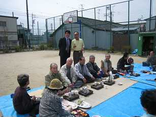 太閤花見茶会。_b0157157_21291068.jpg