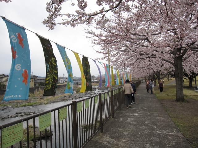 春らんまん✿じぶん色の手ぬぐい ひらり~現場から_f0180433_20273231.jpg