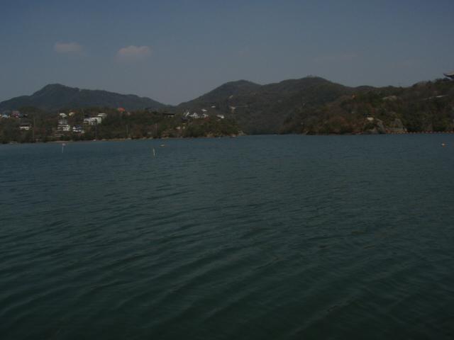 2009/4/6の東条湖_f0002573_1250205.jpg