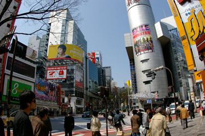 4月6日(月)今日の渋谷109前交差点_b0056983_15194862.jpg