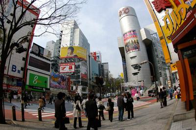 4月8日(水)今日の渋谷109前交差点_b0056983_16432744.jpg