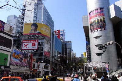 4月9日(木)今日の渋谷109前交差点_b0056983_1933685.jpg