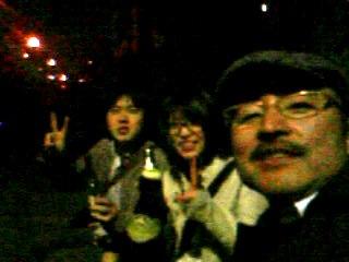 夜桜とベルギービール_e0050006_2149861.jpg