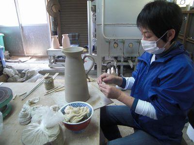 腰が治って作陶に専念してまーす!_e0151349_1839215.jpg