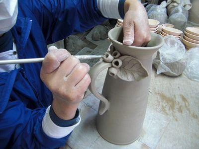 腰が治って作陶に専念してまーす!_e0151349_1839307.jpg
