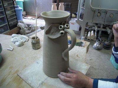 腰が治って作陶に専念してまーす!_e0151349_18401036.jpg