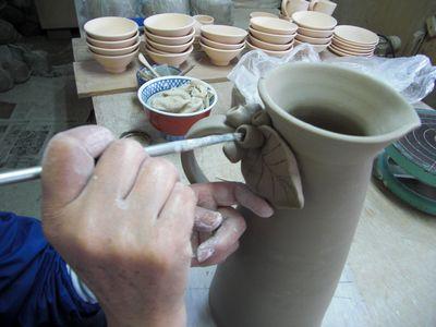 腰が治って作陶に専念してまーす!_e0151349_18423955.jpg
