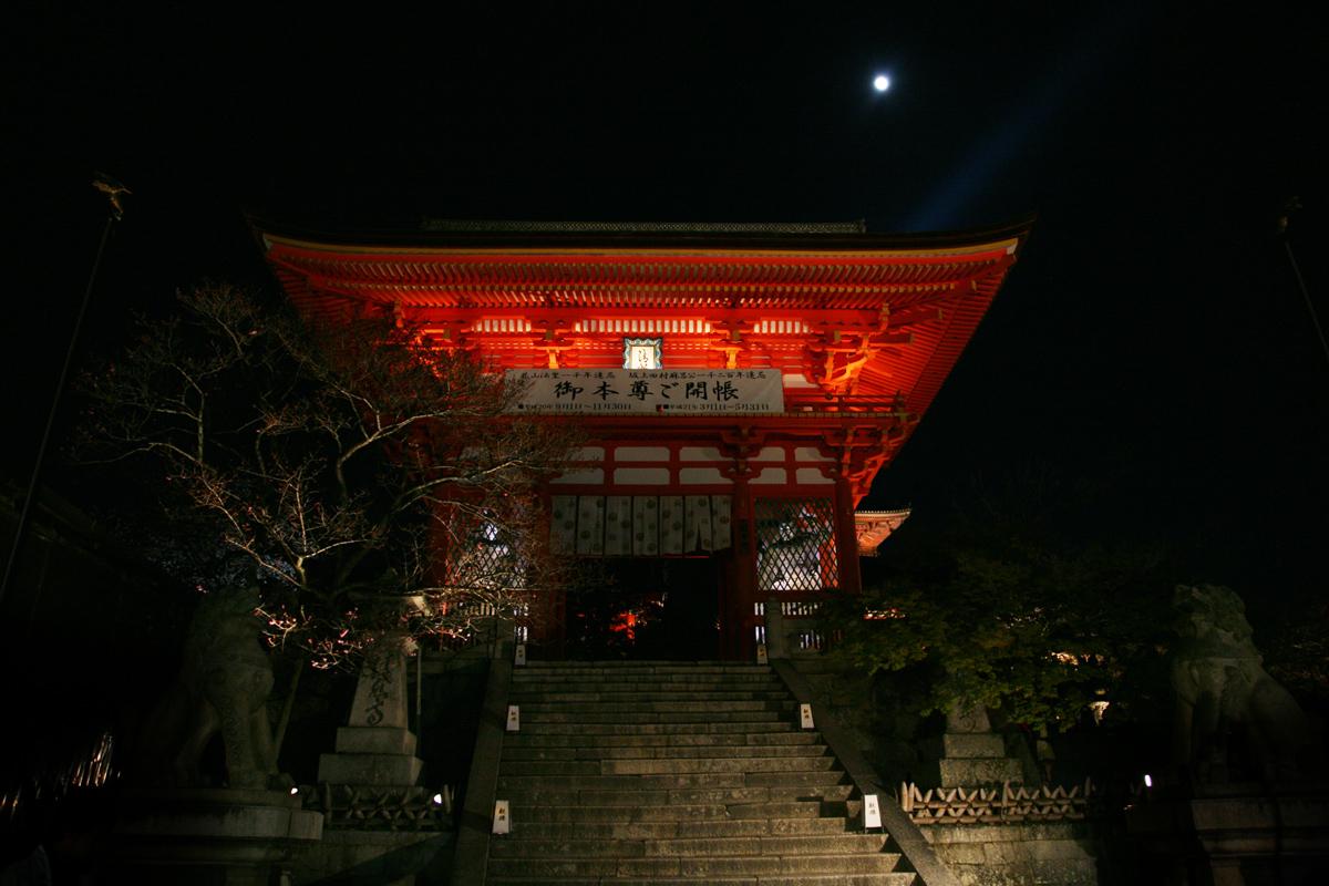 清水寺 桜ライトアップ_f0021869_18242030.jpg