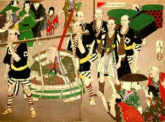 月岡芳年名品展ー新撰東錦絵と竪二枚続 @UKIYO-e TOKYO_b0044404_924836.jpg