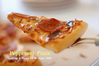 北美特受欢迎的披萨,也是我家爱吃的披萨之一!商店有切好零卖的-