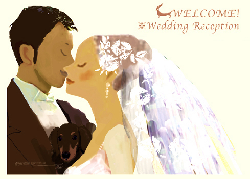 Wedding signboard&object_f0172313_2012789.jpg
