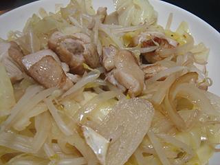 焼鮭と鶏肉野菜炒め_c0025217_0195069.jpg