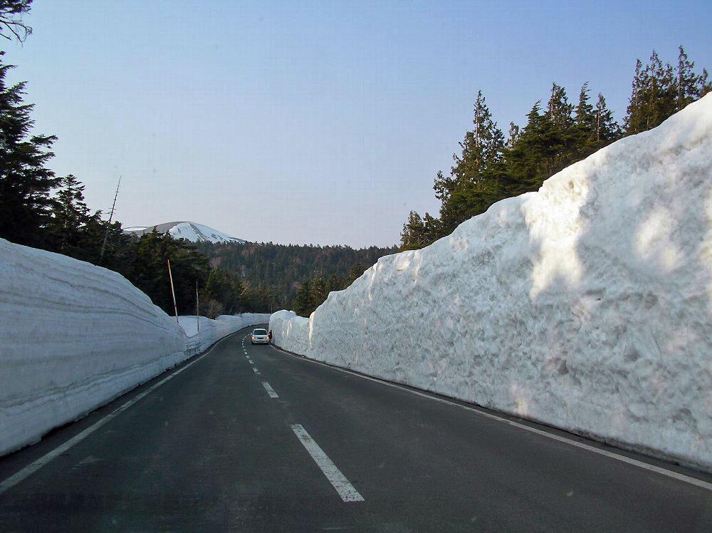 一切経山 ~ 2009年4月11日_f0170180_16131048.jpg