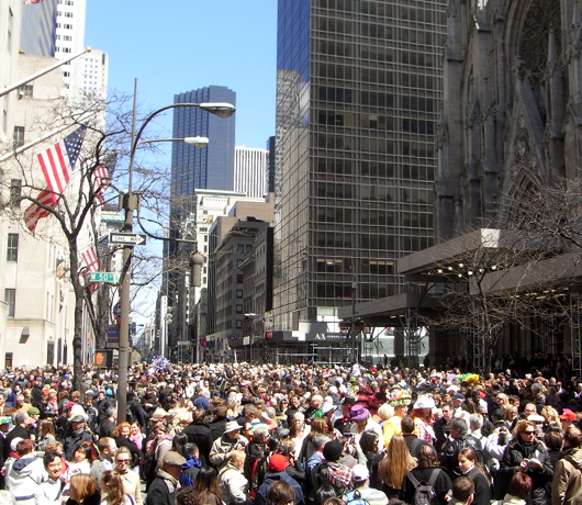 NYのイースター・パレード 2009_b0007805_1454325.jpg