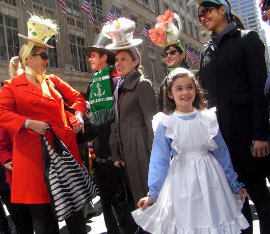 NYのイースター・パレード 2009_b0007805_1583581.jpg