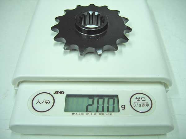 525チェーン→520チェーンへのサイズコンバート検証♪_c0086965_2014755.jpg