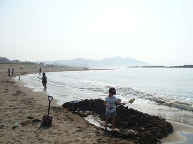 日曜日、また海へ_b0126182_22415825.jpg