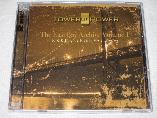 TOWER OF POWER / The East Bay Archive Volume Ⅰ_b0042308_23345132.jpg