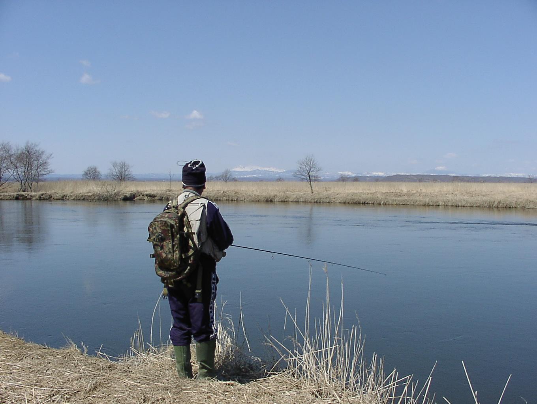 さすらいのアングラー 湿原の釣師編 4月14日_f0113639_1357281.jpg