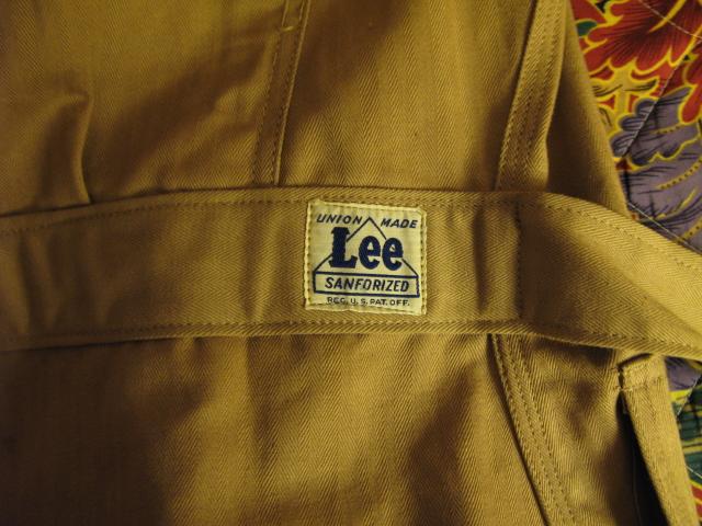 アメリカ仕入れ情報#16 30-40\'S DEAD STOCK Lee エンジニアコート!_c0144020_8434751.jpg