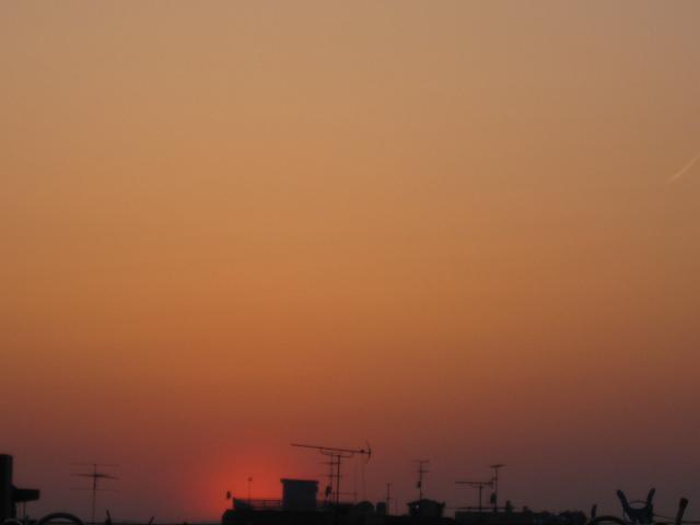 小春日和の夕焼け色に染めて・・・_f0180433_15435323.jpg