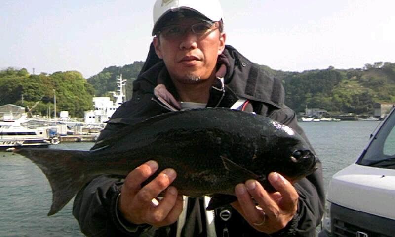 16日姫島千畳で尾長グレが~(^o^)/_d0114397_2295990.jpg