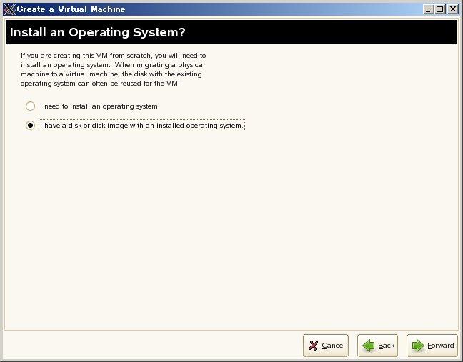 SUSE Linux (SLES10) XEN仮想マシンの移植_a0056607_152321.jpg