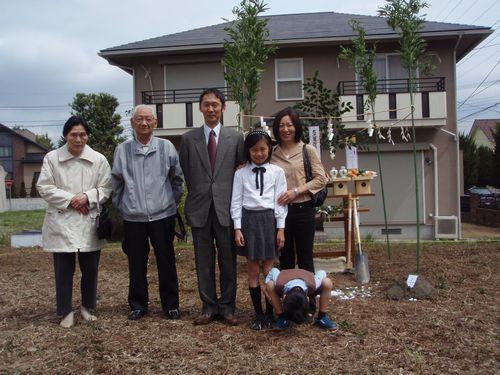 地鎮祭 in  つくば市_a0059217_14374275.jpg