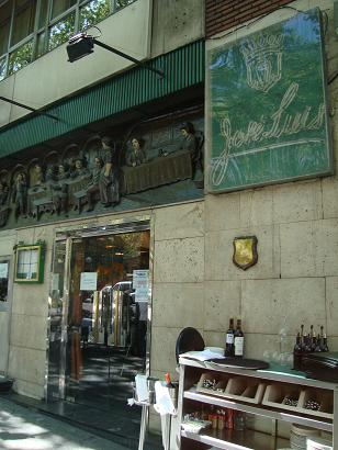 Cerveceria Jose Luis@セラーノ通り_e0120938_19531455.jpg