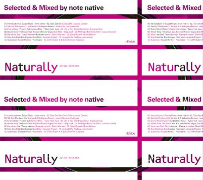 note native MIX CD 「Naturally」 5/13発売!!!_f0142044_195040.jpg