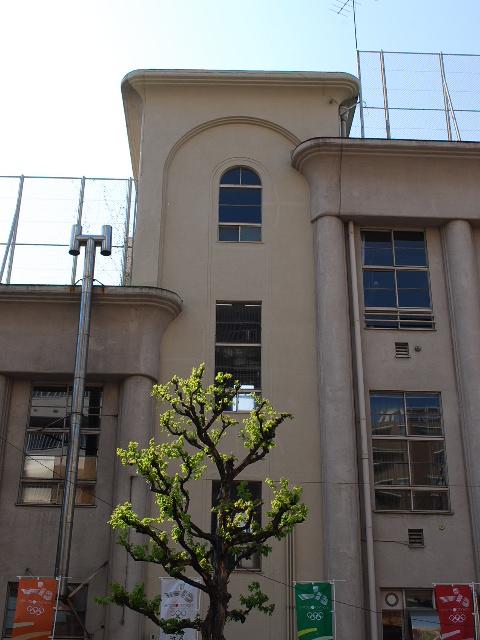 東京都中央区立明石小学校(大正モダン建築探訪)_f0142606_21484044.jpg