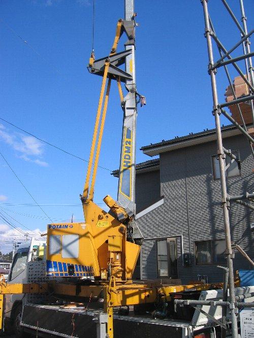 土台敷き・1階建て方_b0165417_740121.jpg