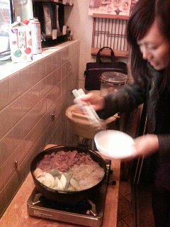すき焼きパーティー_a0075684_354020.jpg