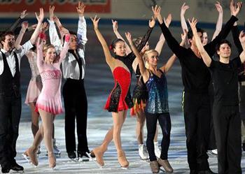 世界フィギュアスケート国別対抗戦2009~エキシビション_b0142989_2148276.jpg