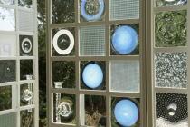 三嶋りつ惠ヴェネツィアン・グラスの扉@プリマヴェーラonクレマチスの丘・ヴァンジ彫刻庭園美術館_f0006713_3215612.jpg