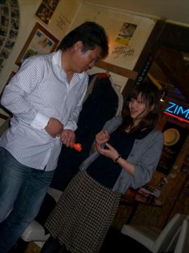 札幌の楽しい夜の締めくくり!_c0180686_1023431.jpg