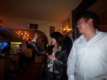 札幌の楽しい夜の締めくくり!_c0180686_109154.jpg