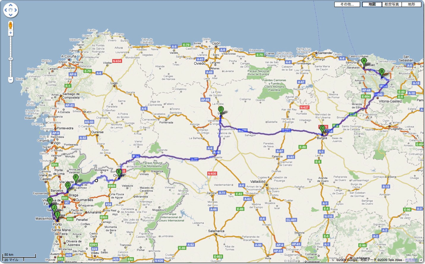 バスクからポルトへ / 美食と巡礼と美酒の旅 (の予定)_c0046904_0225935.jpg