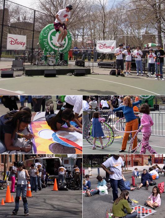 伝統的な遊びが勢ぞろい Street Games 2009_b0007805_9225963.jpg