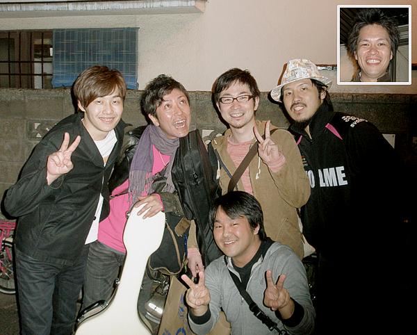 野辺剛正 and The No Baby Band @ 下北沢 440_e0053731_1842546.jpg
