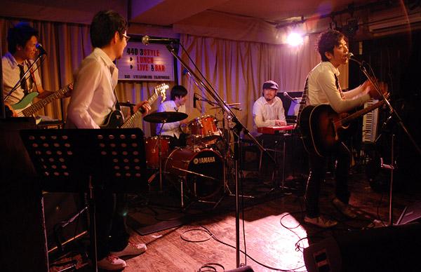 野辺剛正 and The No Baby Band @ 下北沢 440_e0053731_1852510.jpg