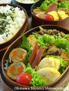 朝バナナのその後・・・・・☆今日のお弁当♪_c0139375_1222682.jpg